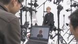新作ゲームではキャラクターのモデルに、本物の俳優を起用。3Dカメラで撮影したデータをもとに主人公を作り上げている。その撮影を体験(C)NHK