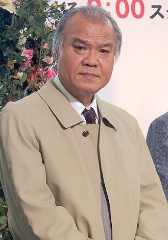 新ドラマ『おトメさん』の制作発表記者会見に出席した大地康雄 (C)ORICON DD inc.
