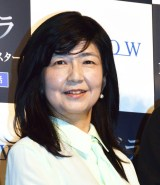 WOWOW『連続ドラマW パンドラIV AI戦争』トークイベントに出席した井上由美子氏 (C)ORICON NewS inc.