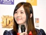 復帰後初の囲み取材に出席したSKE48・松井珠理奈=『SKE48 10周年記念 イオンカード デビュー発表会』 (C)ORICON NewS inc.
