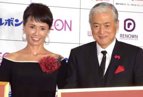 サムネイル 31年ぶりにメディア共演した陣内孝則・恵理子夫妻 (C)ORICON NewS inc.
