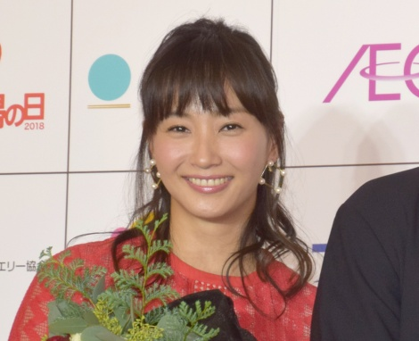 『いい夫婦 パートナー・オブ・ザ・イヤー 2018』を受賞した藤本美貴 (C)ORICON NewS inc.