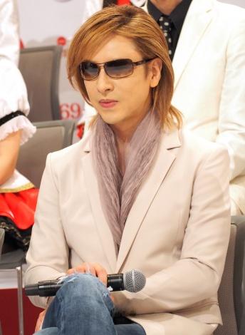 『第69回NHK紅白歌合戦』出場者会見に出席したYOSHIKI (C)ORICON NewS inc.