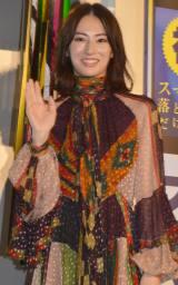 映画『スマホを落としただけなのに』大ヒット御礼舞台あいさつに出席した北川景子 (C)ORICON NewS inc.