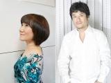テレビアニメ『荒野のコトブキ飛行隊』に出演する(左から)矢島晶子、藤原啓治