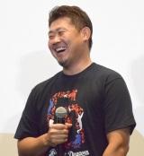 映画『ジュラシック・ワールド/炎の王国』のブルーレイ&DVD発売記念イベントに参加した松坂大輔投手 (C)ORICON NewS inc.