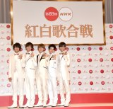 『第69回NHK紅白歌合戦』出場者会見に出席したKing & Prince (C)ORICON NewS inc.
