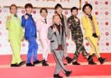 『第69回NHK紅白歌合戦』出場者会見に出席したDA PUMP (C)ORICON NewS inc.