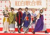 『第69回NHK紅白歌合戦』企画コーナーに出演する刀剣男士 (C)ORICON NewS inc.