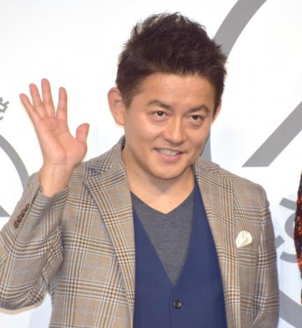 ふるさと納税サイト『ふるなび』の新CM発表会に出席した井戸田潤 (C)ORICON NewS inc.