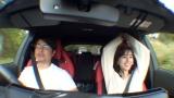 元TBSアナウンサーの安東弘樹と田中みな実がゲスト出演=11月17日放送、テレビ東京『車あるんですけど…?』((C)テレビ東京