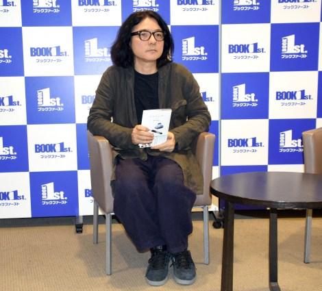 小説『ラストレター』刊行記念トークショー前の囲み取材に出席した岩井俊二 (C)ORICON NewS inc.