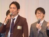 M-1決勝進出を決めたスーパーマラドーナ (C)ORICON NewS inc.
