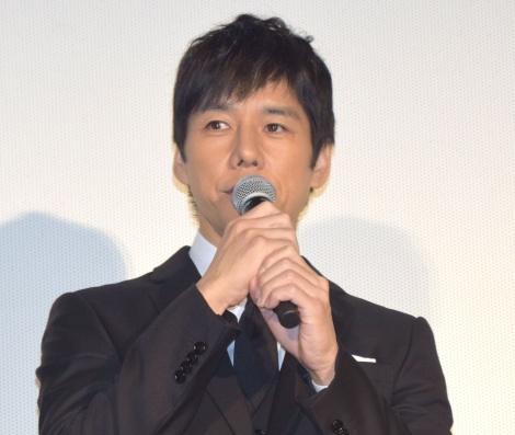 映画『人魚の眠る家』公開記念舞台あいさつに出席した西島秀俊 (C)ORICON NewS inc.