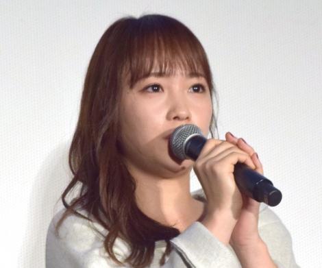 映画『人魚の眠る家』公開記念舞台あいさつに出席した川栄李奈 (C)ORICON NewS inc.