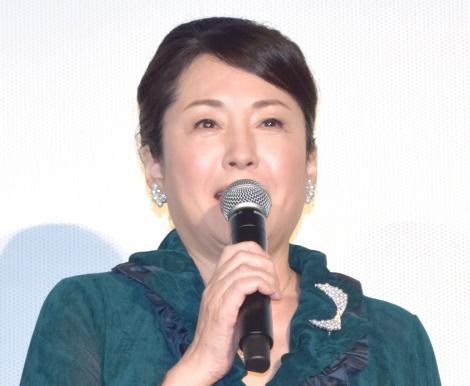 映画『人魚の眠る家』公開記念舞台あいさつに出席した松坂慶子 (C)ORICON NewS inc.