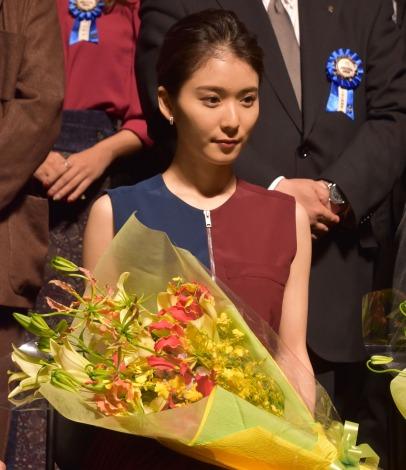 『第10回TAMA映画賞』授賞式に出席した松岡茉優 (C)ORICON NewS inc.