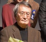 『第10回TAMA映画賞』授賞式に出席した山崎努 (C)ORICON NewS inc.