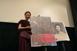 映画『バルバラ〜セーヌの黒いバラ〜』公開記念ミニライブ&トークショーを開催したクミコ