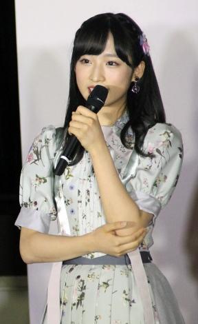 小栗有以=『bayfm MEETS AKB48 13th stage〜Because〜』公開録音 (C)ORICON NewS inc.