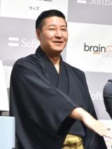『ソフトバンク新製品発表会』に出席した長田庄平(チョコレートプラネット) (C)ORICON NewS inc.