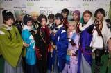 11月17日放送、NHKワールドJAPANの音楽番組『SONGS OF TOKYO』に出演した刀剣男士のスペシャルチーム12振り (C)NHK