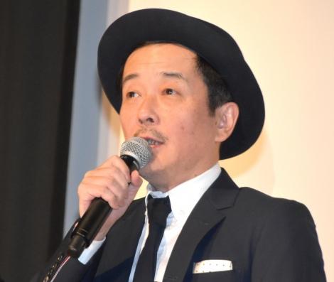 映画『銃』初日舞台あいさつに遅刻したリリー・フランキー (C)ORICON NewS inc.