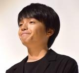 映画『銃』初日舞台あいさつに出席した岡山天音 (C)ORICON NewS inc.