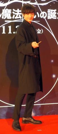 小関裕太=映画『ファンタスティックビーストと黒い魔法使いの誕生』ワールドツアーファイナルプレミアinJAPANレッドカーペットイベント (C)ORICON NewS inc.