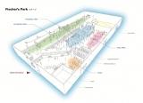 屋内型スポーツテーマパーク「フィッシャーズパーク」のイメージ図