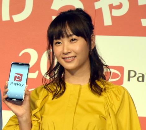 スマホ決済サービス『PayPay』の記者発表会に出席した藤本美貴 (C)ORICON NewS inc.