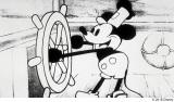 1928年11月18日公開の第1作『蒸気船ウィリー』(1928年)(C)2018 Disney