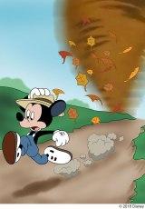 『ミッキーのつむじ風』(1941年)(C)2018 Disney