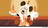 『ミッキーの誕生日』(1942年)(C)2018 Disney
