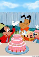 『プルートの誕生祝』(1952年)(C)2018 Disney