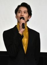 映画『家族のはなし』初日舞台あいさつに登壇した岡田将生 (C)ORICON NewS inc.