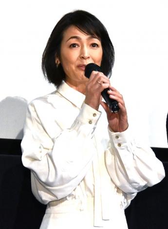 映画『家族のはなし』初日舞台あいさつに登壇した財前直見 (C)ORICON NewS inc.