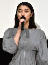 映画『家族のはなし』初日舞台あいさつに登壇した成海璃子 (C)ORICON NewS inc.