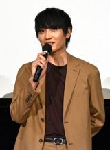 映画『家族のはなし』初日舞台あいさつに登壇した金子大地 (C)ORICON NewS inc.