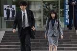 氷弘一役のユースケ・サンタマリア、篠宮梓役の志田未来(C)テレビ朝日