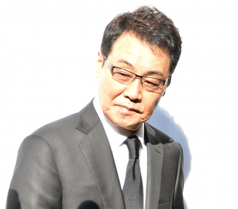 津川雅彦さん・朝丘雪路さんのお別れの会に参列した五木ひろし (C)ORICON NewS inc.