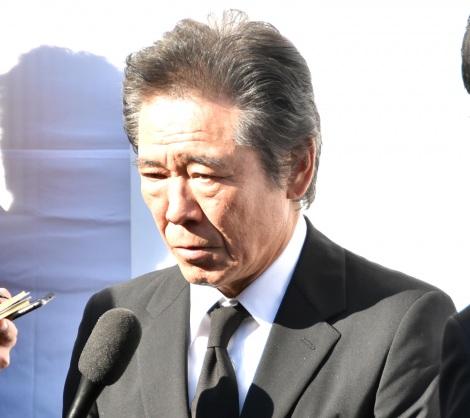 津川雅彦さん・朝丘雪路さんのお別れの会に参列した西岡徳馬 (C)ORICON NewS inc.