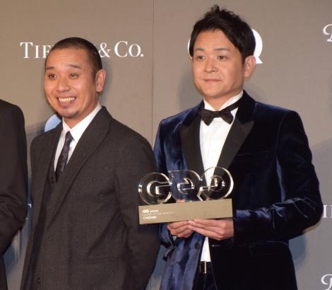 『GQ MEN OF THE YEAR 2018』を受賞した千鳥(左から)大悟、ノブ (C)ORICON NewS inc.