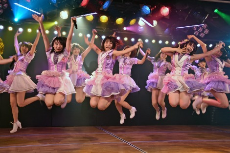 AKB48チーム8が新公演スタート (C)ORICON NewS inc.