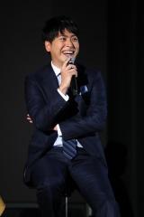 映像配信サービス「dTV」のドラマ『Love or Not』の視聴者イベントに出席した山下健二郎