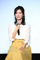 映像配信サービス「dTV」のドラマ『Love or Not』の視聴者イベントに出席した本仮屋ユイカ