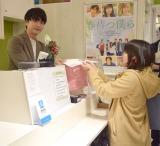 一日店長でファンと交流した稲葉友=映画『春待つ僕ら』イベント (C)ORICON NewS inc.
