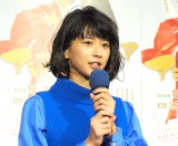 NHK特集ドラマ『アシガールSP』試写会に出席した黒島結菜 (C)ORICON NewS inc.