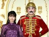 映画『くるみ割り人形と秘密の王国』のプレミアムイベントに出席した(左から)小芝風花、ガリットチュウ・福島善成 (C)ORICON NewS inc.