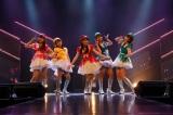 ドラフト3期研究生による「ラッキーセブン」=HKT48 7周年記念特別公演より(C)AKS